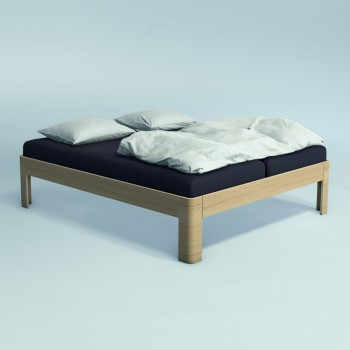 Auping Bed Auronde 2000, Natural Oak