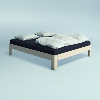 Auping Bed Auronde 1500, Soft White Oak