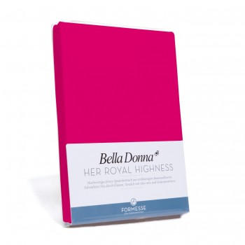 Bella Donna Tophoeslaken XL, Magenta (0192)
