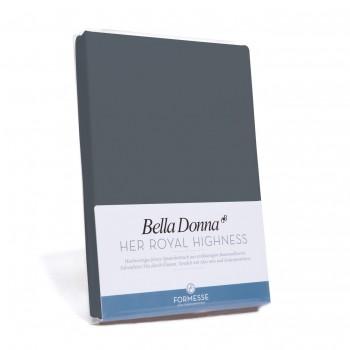 Bella Donna Tophoeslaken XL, Grafiet (0220)