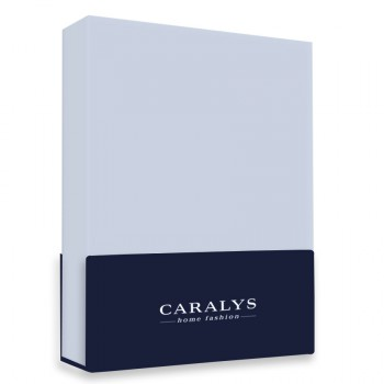 Caralys Topdekhoeslaken Ice Blue