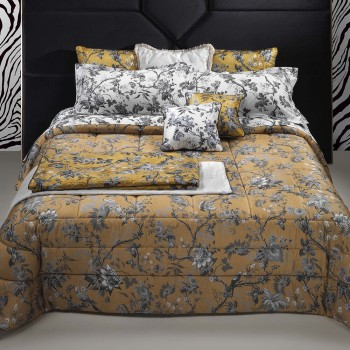 Roberto Cavalli Comforter China Birds, Gold