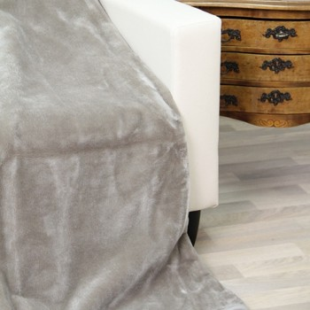 Ruwette Deken Parma (Anti-Allergie), Zilver