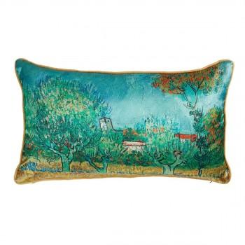 Van Gogh Sierkussen Countryside, Blue