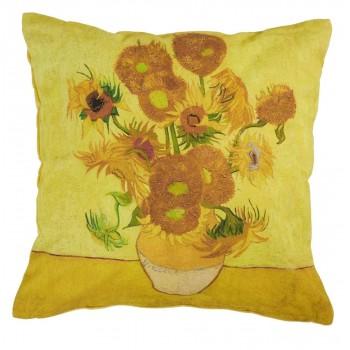 Van Gogh Sierkussen Sunflower, Yellow