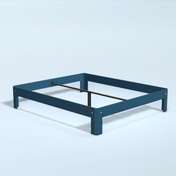 Auping Bed Auronde 1500, Royal Blue