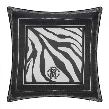 Roberto Cavalli Sierkussen Frame Zebrage, Blauw
