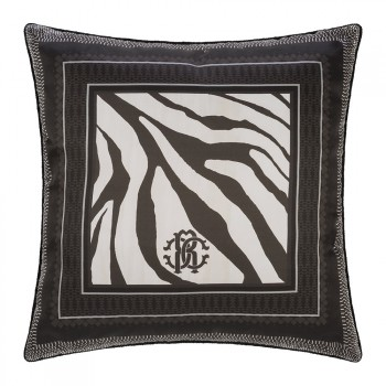 Roberto Cavalli Sierkussen Frame Zebrage, Grijs