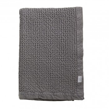 Grand Design Plaid Waffle, Dark Grey