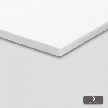 Lysdrap Topperhoeslaken Satijn Extra Luxe, Wit