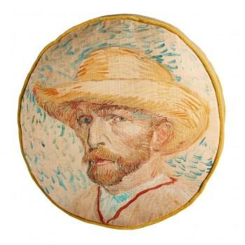 Van Gogh Sierkussen Zelf Portret, Naturel