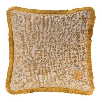 Roberto Cavalli Sierkussen Skin Velvet, Gold