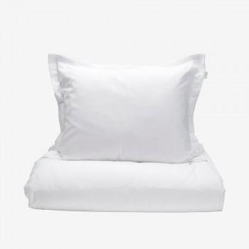 Grand Design Dekbedovertrek Solid Satin, White