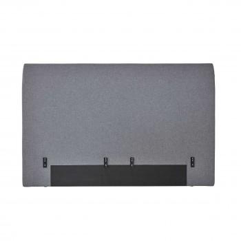 Tempur Achterwand Shape Stof H:110 cm, Grey