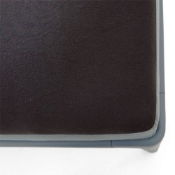Auping Tophoeslaken Jersey, Black