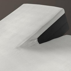 Auping Hoeslaken Jersey Splittopper, Off-White