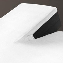 Auping Hoeslaken Jersey Splittopper, White