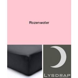 Lysdrap Hoeslaken Satijn, H:25, Rozenwater