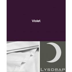 Lysdrap Lakenset Satijn, Violet