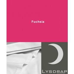 Lysdrap Lakenset Satijn, Fuchsia