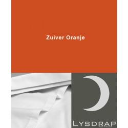 Lysdrap Lakenset Satijn, Zuiver Oranje