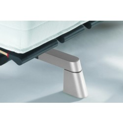 Swissflex Design Pootset Schuin Aluminium, 9 cm.