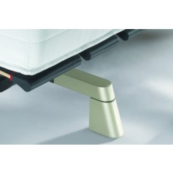 Swissflex Design Pootset Schuin Titanium, 9 cm.