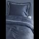 Grand Design Dekbedovertrek Bedford Satin, Grey